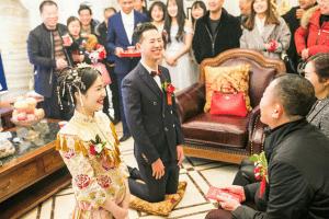 越南新娘拜天地